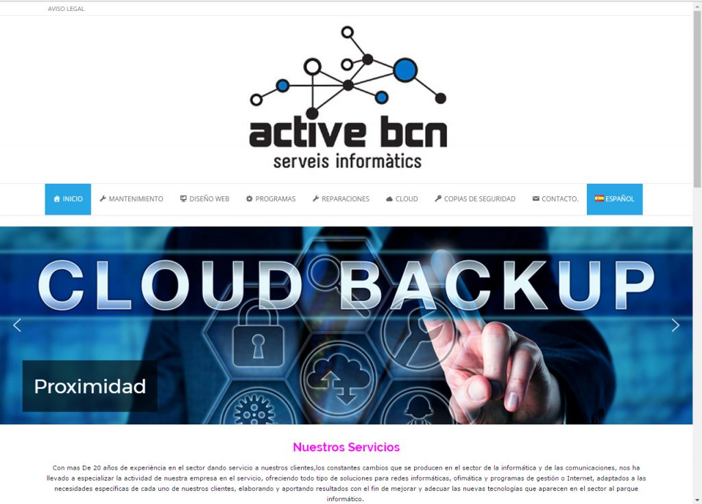 Diseño Web Active BNC