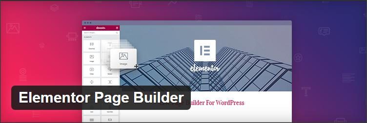 Elementor Builder - Plugins Wordpress